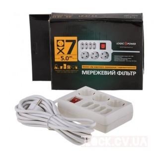 NEW Мережеві фільтри LogicPower LP-X7 (2821)