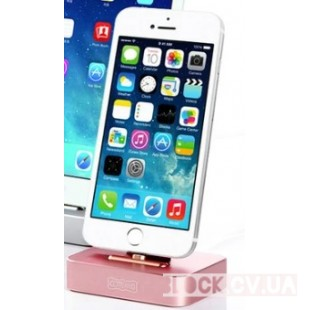 Aluminum Lighting Charger Base For Iphone 2.4A COTEetD