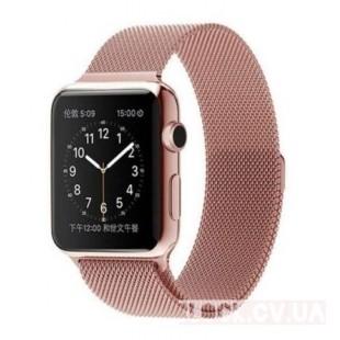 Ремешок Milanese Loop Rose Gold для Apple Watch 40/38mm