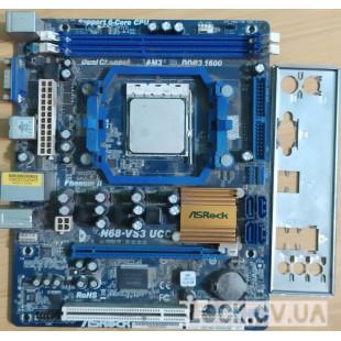 ASRock N68-VS3 UCC + sdx140hbk13gq sAM3
