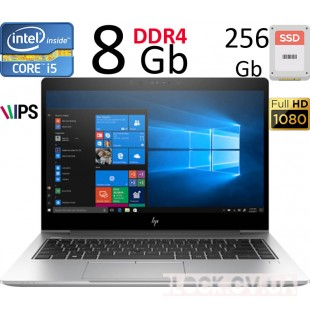 "14"" HP Elitebook 840 G5  FULL HD IPS / I5-8250 / 8gb DDR4/ 256gb SSD"