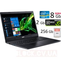 "15,6"" Acer A315-55g-7074 HD / I7-8665U / 8 Gb DDR4 / 256 Gb ssd/ MX-230"
